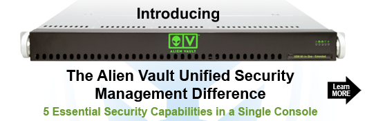 Alien Vault Unified Security Management Appliances