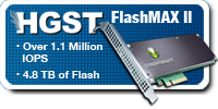 Check out the HGST / Virident PCIe Flash Storage Offerings