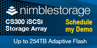Nimble Storage CS300 Storage Array - Schedule a Demo