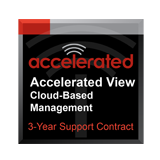 Accelerated View™ Cloud Based Management for 3 Years