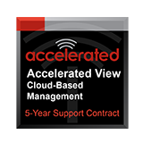 Accelerated View™ Cloud Based Management for 5 Years