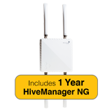 Aerohive HiveAP 1130 Outdoor 802.11ac Access Point Bundle with 1 Year HiveManager NG Subscription & Outdoor Antenna Kit