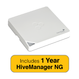 Aerohive HiveAP 121 Access Point Bundle, Indoor, Dual Radio, 2x2 Ant. 802.11a/b/g/n & 1 Year HiveManager NG Subscription