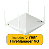 Aerohive HiveAP 122X Access Point, 2 radio 2x2:2 802.11a/b/g/n/ac with 5 Year HiveManager NG Subscription