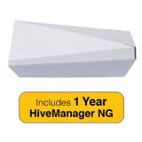 Aerohive HiveAP 122 Access Point, Indoor  2 radio 2x2:2 802.11a/b/g/n/ac with 1 Year HiveManager NG Subscription
