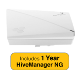 Aerohive HiveAP 130 Access Point Bundle, Indoor, Dual Radio, 2x2:2, 802.11ac with 1 Year HiveManager NG Subscription