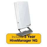 Aerohive AP150W Indoor Wall Plate Access Point, 2 Radio 3x3:3 802.11ac, MU-MIMO & 3 Year HiveManager NG Subscription