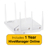 Aerohive HiveAP AP245X Indoor Access Point, 2 radio 3x3:3 802.11a/b/g/n/ac & 1 Year HiveManager NG Subscription