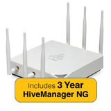 Aerohive HiveAP 350 Access Point Bundle with Indoor Antenna Kit & 3 Year HiveManager NG Subscription - No Power Supply/Inj.