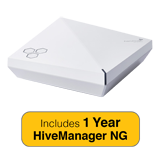 Aerohive HiveAP550 Indoor plenum rated, 2 radio 4x4:4 802.11a/b/g/n/ac Access Point with 1 Year HiveManager NG Subscription