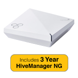 Aerohive HiveAP550 Indoor plenum rated, 2 radio 4x4:4 802.11a/b/g/n/ac Access Point with 3 Years HiveManager NG Subscription