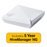 Aerohive HiveAP550 Indoor plenum rated, 2 radio 4x4:4 802.11a/b/g/n/ac Access Point with 5 Years HiveManager NG Subscription