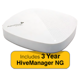 Aerohive AP630 Indoor Plenum Rated Access Point & 3 Year HiveManager NG Subscription