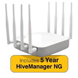 Aerohive AP650X Indoor Plenum Rated Access Point & 5 Year HiveManager NG Subscription