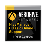 Aerohive Networks HiveManager Classic Online Subscription for one (1) Aerohive Access Point, Router or Switch - 1 Year
