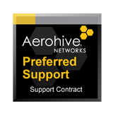 Aerohive 1 year Preferred Support for one(1) Aerohive 24-Port Switch for HiveManager NG Cloud Services