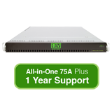 AlienVault USM All-in-One 75A, Hardware Appliance with 1 Year Support