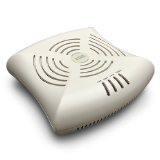 Aruba Networks AP-105 Wireless Access Point, 802.11a/b/g/n, 2x2:2 Dual Radio, 300Mbps per radio, Integrated Antenna