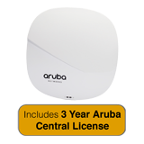 Aruba Networks Instant IAP-325 Wireless AP Bundle, 802.11n/ac, 4x4 MU-MIMO, Dual Radio w/3 Yrs Aruba Central License