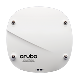 Aruba Networks IAP-324 Wireless Access Point, 802.11n/ac, 4x4 MU-MIMO, Dual Radio, Antenna Connectors