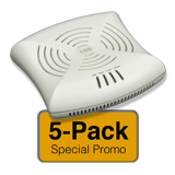 Aruba Networks Instant 104 Wireless Access Point 5-Pack, 802.11a/b/g/n, 2x2:2 Dual Radio (Limit one 5-Pack Per Customer)