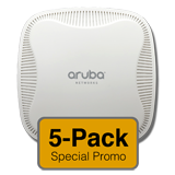 Aruba Networks Instant 103 Wireless Access Point 5-Pack, 802.11a/b/g/n, 2x2:2 Dual Radio, (Limit one 5-Pack Per Customer)