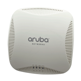 Aruba Networks Instant 224 Wireless Access Point, 802.11 n/ac, 3x3:3 Dual Radio, 450Mbp per radio, Antenna Connectors
