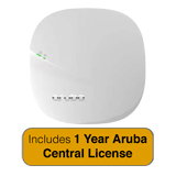 HP Aruba Instant IAP-305 802.11ac Access Point - 2x2:2/3x3:3 MU-MIMO Radio Integrated Antenna with 1 Year Aruba Central License