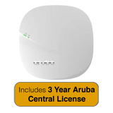 HP Aruba Instant IAP-305 802.11ac Access Point - 2x2:2/3x3:3 MU-MIMO Radio Integrated Antenna with 3 Year Aruba Central License