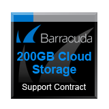 Barracuda Networks 200GB Cloud Storage Service - 1 Year