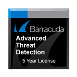Barracuda Networks Next-Generation Firewall X50 Advanced Threat Detection Subscription - 5 Years