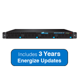 Barracuda Message Archiver 650 Appliance Bundle - 8TB Storage, Max. 2000 Users, 1U - Includes 3 Years Energize Updates