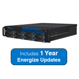 Barracuda Message Archiver 850 Appliance - 16TB Storage, Max. 4000 Users, 2U - Includes 1 Year Energize Updates