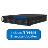 Barracuda Message Archiver 850 Appliance - 16TB Storage, Max. 4000 Users, 2U - Includes 3 Years Energize Updates