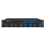 Barracuda Networks 800 Email Security Gateway, Up to 5,000 Domains, 8,000-22,000 Active Email Users & 120GB Message Log Storage