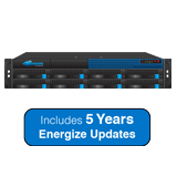 Barracuda Networks 800 Email Security Gateway, Up to 5,000 Domains, 8,000-22,000 Email Users - with 5 Years Energize Updates