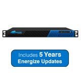 Barracuda Networks 380 SSL VPN 1U Appliance, 50 Maximum Concurrent Users - Includes 5 Years Energize Updates