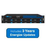 Barracuda Networks 810 Web Filter Appliance Bundle - Up to 200Mbps Throughput, 3000 Concurrent Users - 3 Years Energize Updates