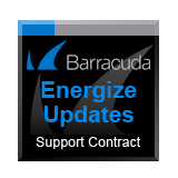 Barracuda Networks NG Firewall F301 (WiFi Bundle) Energize Updates - 3 Years Support Contract