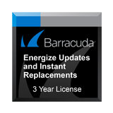 Barracuda Security Suite IS300 Energize Update and Instant Replacement Support Contract -  3 Years
