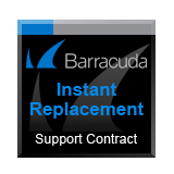 Barracuda Networks Next-Generation Firewall X201 (with WiFi) Instant Replacement Support Contract - 5 Years