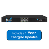 Barracuda Networks Next-Generation Firewall X400, 2.5 Gbps Firewall Throughput, 8 x GbE Ports with 1 Year Energize Updates
