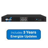 Barracuda Networks Next-Generation Firewall X400, 2.5 Gbps Firewall Throughput, 8 x GbE Ports with 3 Years Energize Updates