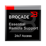 Essential Remote Support 1-Year Contract for Brocade FastIron FCX 624S, FCX 624-I/E/-ADV