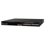 Brocade FCX 624S-F Ethernet Switch - 24x 1GbE SFP Enternet Fiber, 2x Stacking Ports, Front-to-Back Airflow, 1x RPS13-E
