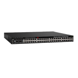 Brocade FCX 648S Ethernet PoE Switch - 48 Ports 1GbE PoE Ethernet, 2x Stacking Parts, Advanced SW License w/ BGP