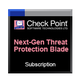 Check Point Next Generation Threat Prevention Blades Package for 1 Year for Check Point 1180