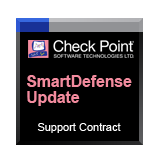Check Point Total Security SmartDefense Update Service and Support for Safe@Office, 25 Users