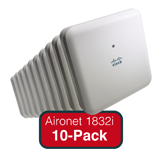 Cisco Aironet 1830 Eco-pack Qty. 10 Configurable Indoor Dual-band, Controller-based 802.11a/g/n/ac, Wave 2 APs with Int. Antenna