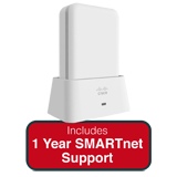 Cisco Aironet 1810 802.11ac Wave 2 OfficeExtend Access Point Bundle - Includes 1 Year SMARTnet 8x5 Next Business Day Support